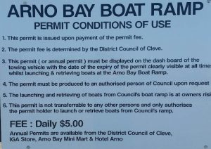 Boat Ramp Fees