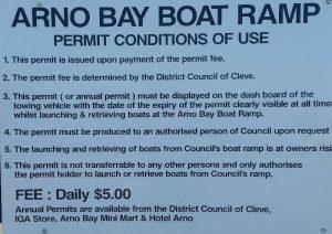 Boat Ramp Fees